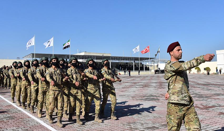 Το πρωτο στρατόπεδο Τούρκων μισθοφόρων στην Ιντλίμπ