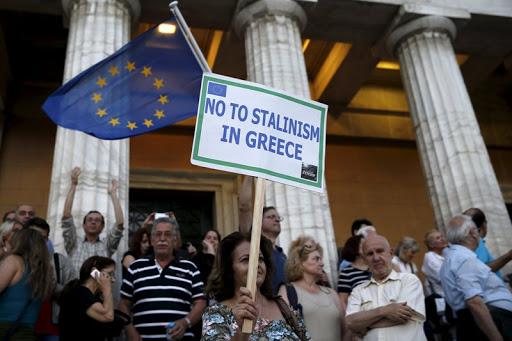 Μένουμε Ευρώπη εισβολή κοινοβούλιο