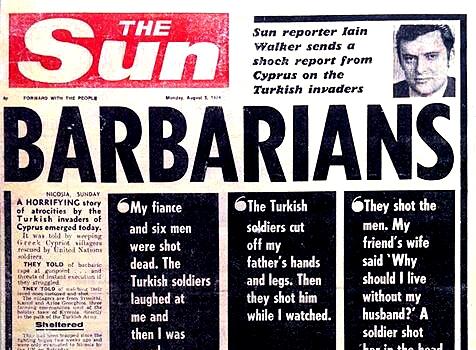 Κυπριακή εισβολή γερμανικό πρωτοσέλιδο